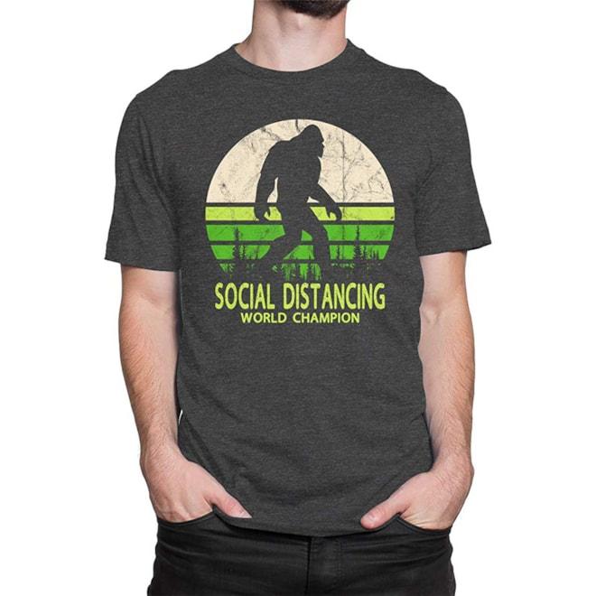 Bigfoot Social Distancing Champion