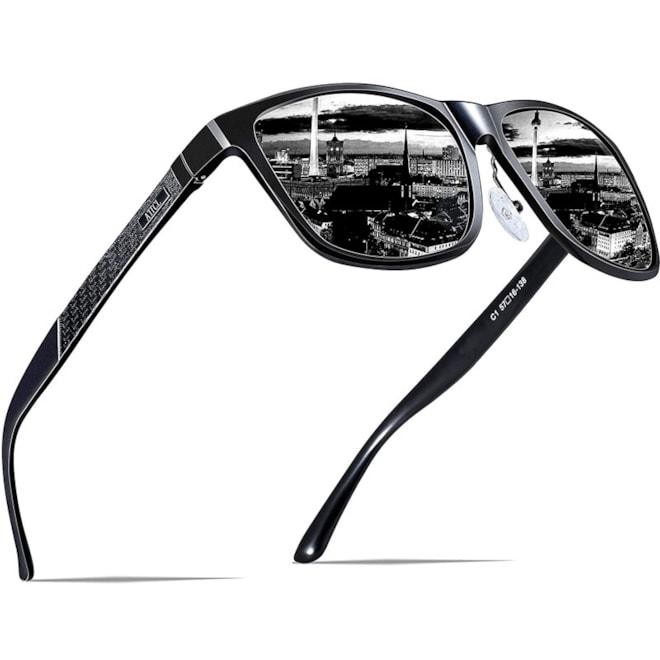 Metal Frame Polarized Sunglasses