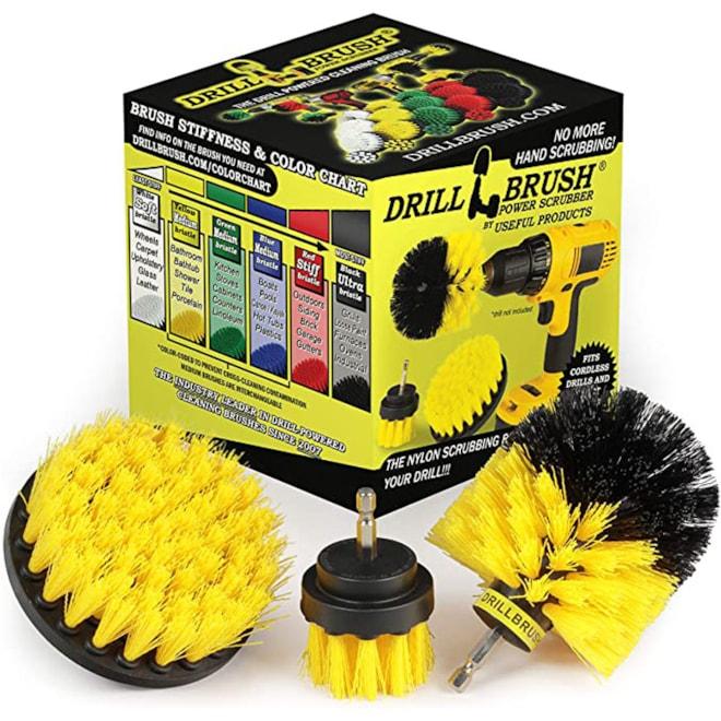 Drill Brush Attachment Kit