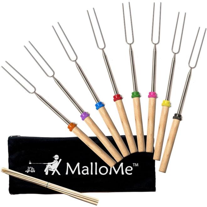 Telescoping Marshmallow Sticks