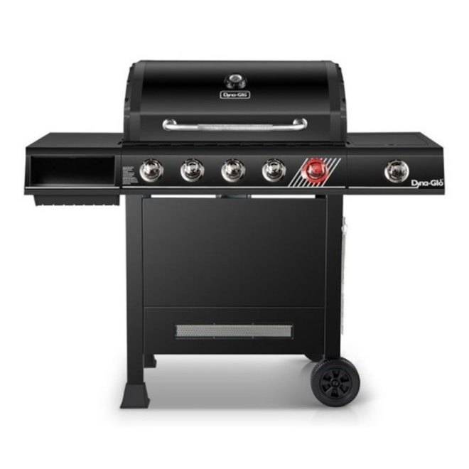 Propane BBQ Grill with Sear Burner and Side Burner