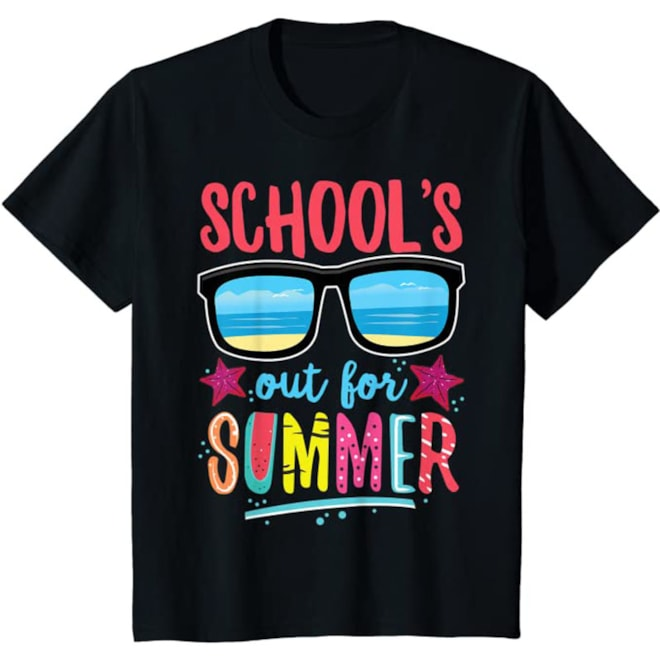 Vintage Style School's Out For Summer T-Shirt