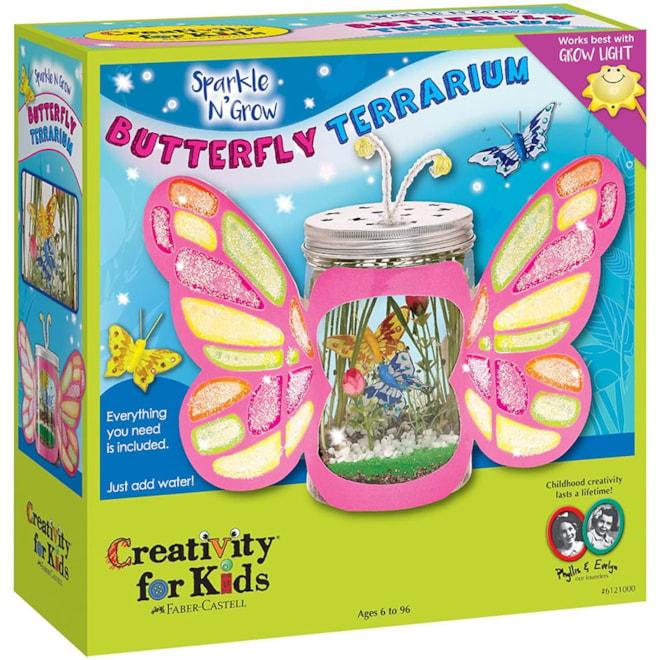 Sparkle N' Grow Butterfly Terrarium