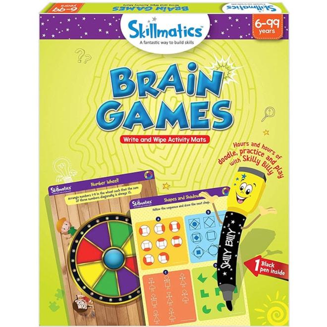 Brain Games Reusable Activity Mats