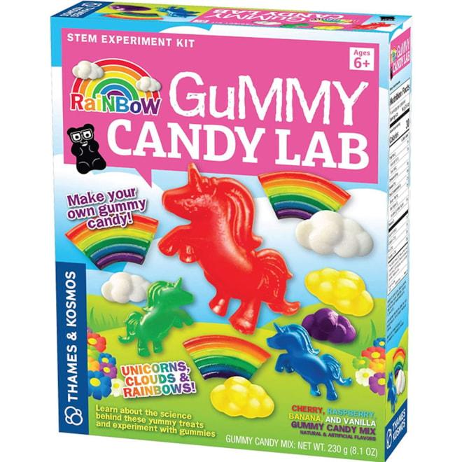 Rainbow Gummy Candy Lab