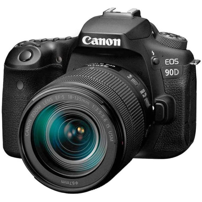 Canon DSLR Camera EOS 90D with 18-135 is USM Lense