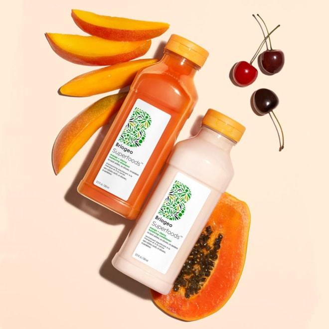 Briogeo Superfoods Mango + Cherry Balancing Shampoo & Conditioner Set