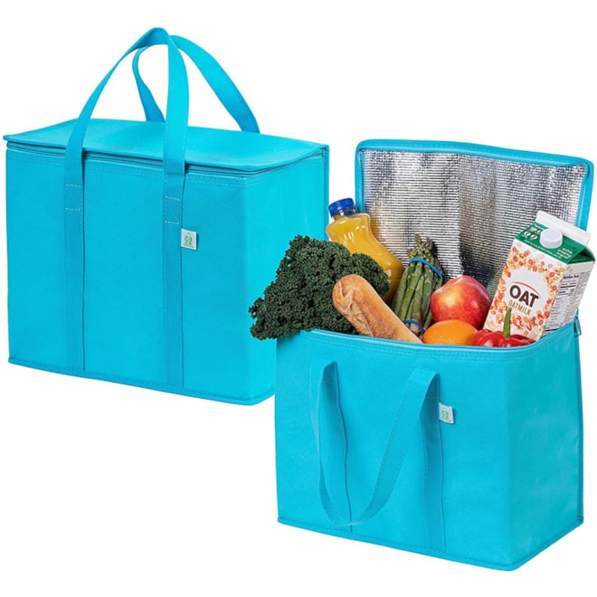2 Pack Insulated Reusable Bags
