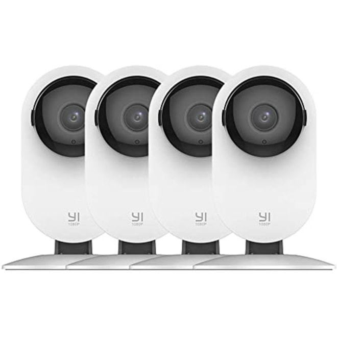 4pc Home Camera, 1080p Wireless IP Security Surveillance System with Night Vision