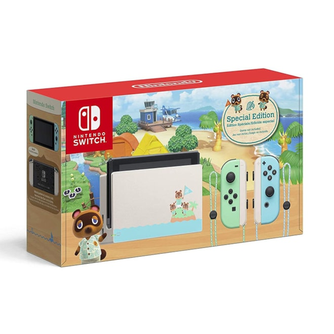 Animal Crossing New Horizons Edition Switch