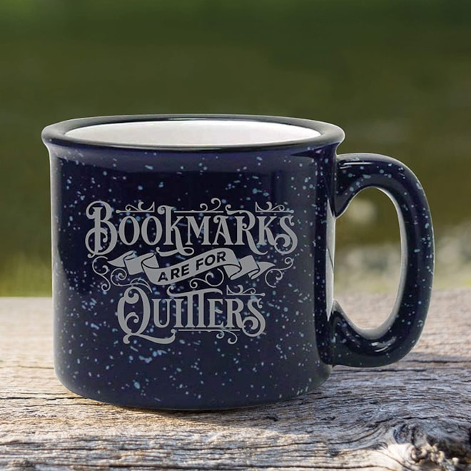 Bookmarks Are For Quitters Mug