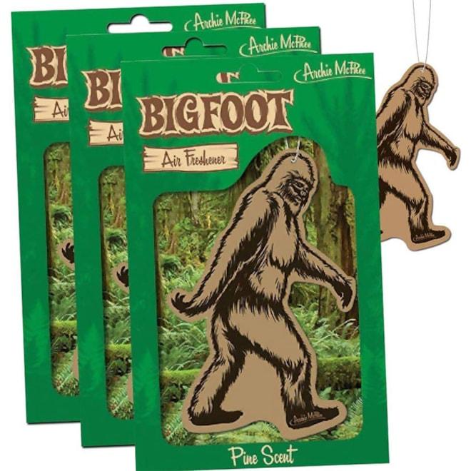 Bigfoot Air Freshener 3 Pack