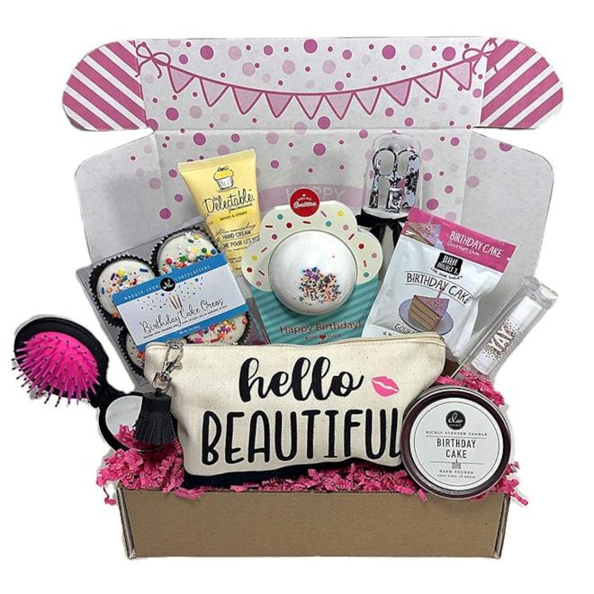 Birthday Gift Basket Box for Her