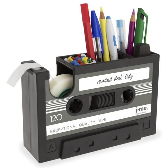 Cassette Tape Dispenser Pen Holder