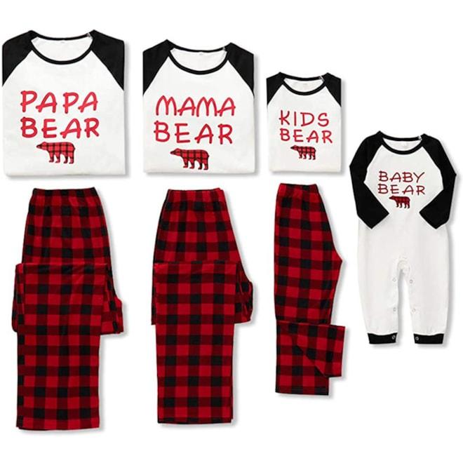 Christmas Family Pajamas Matching Sets