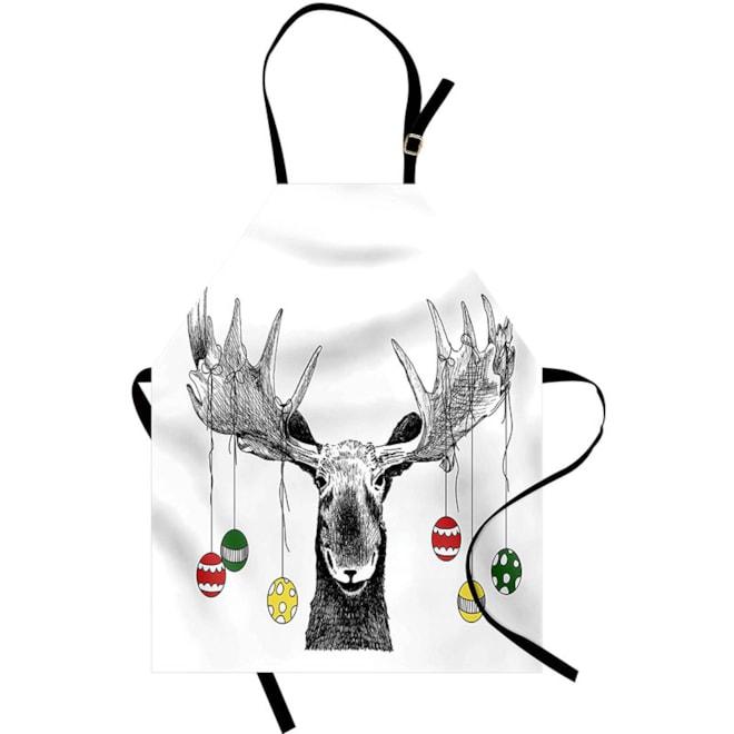 Christmas Moose Apron