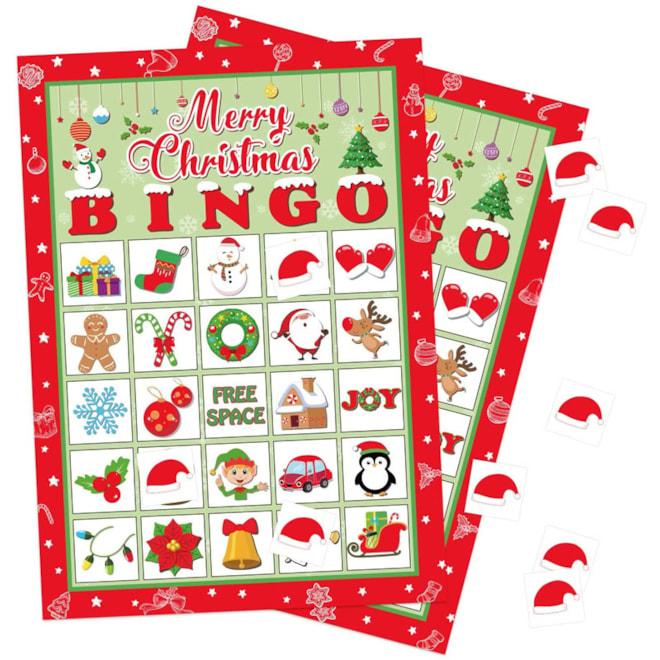 Christmas Bingo Game 32 Players