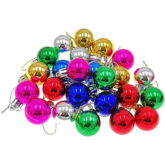Colorful Christmas Ball Baubles