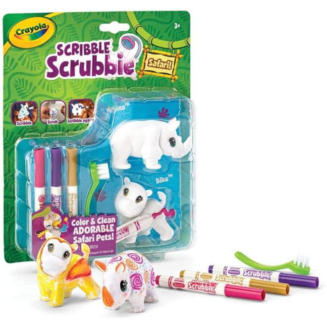 Crayola Scribble Scrubbie Safari Animals