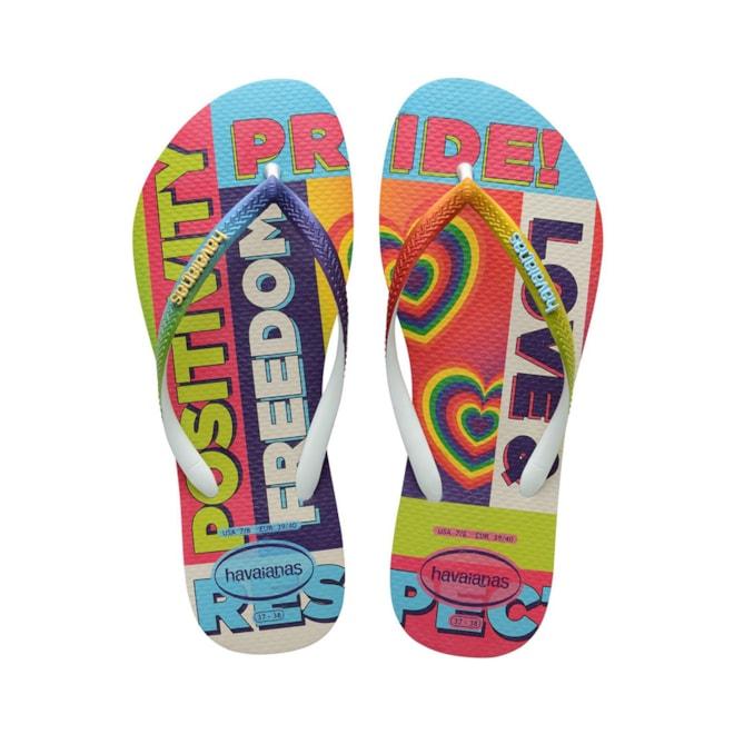 Havaianas Pride Rainbow Flip Flop Sandals