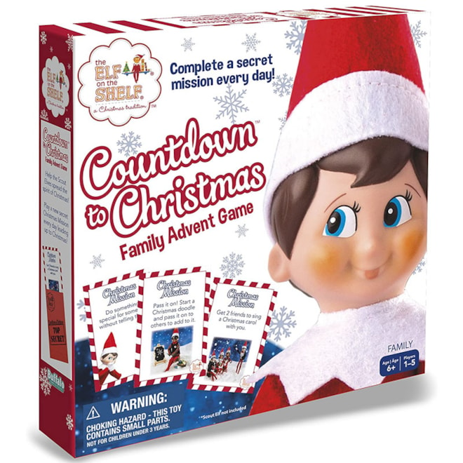 Elf on The Shelf- Countdown to Christmas Advent Game