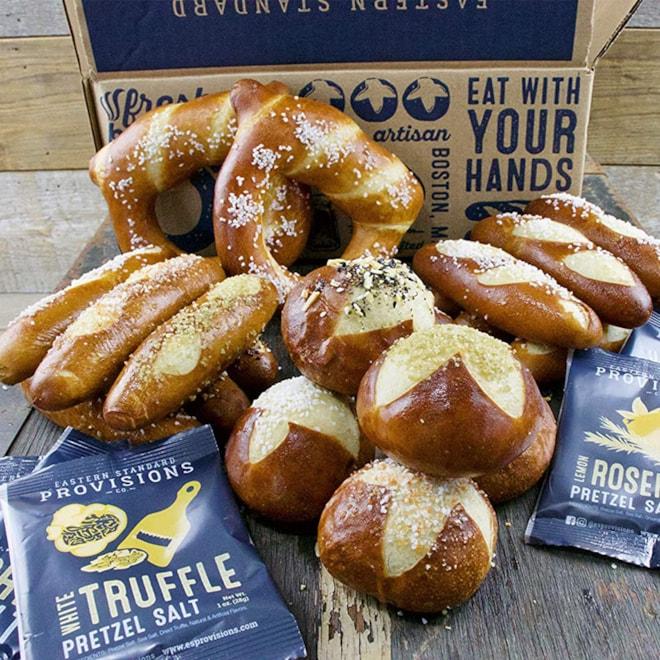 Eastern Standard Provisions Gourmet Soft Pretzel Gift Box