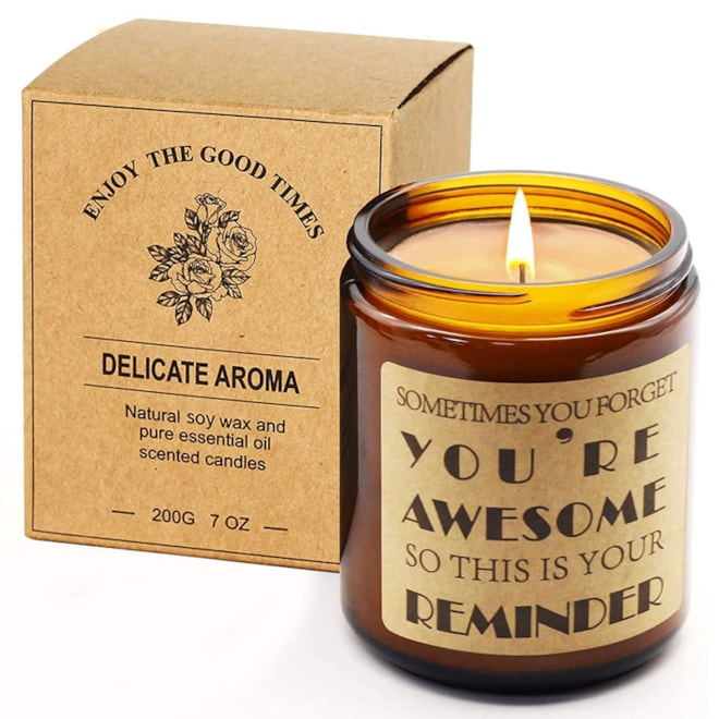 Encouragement Lavender Scented Candle