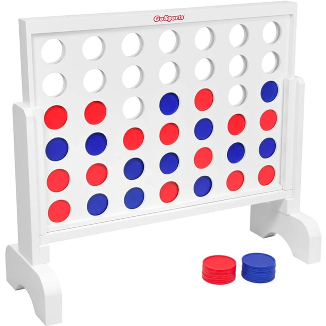 Giant Wooden 4 in a Row Game