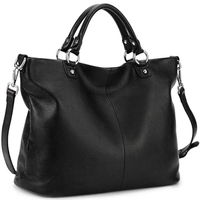 Genuine Leather Satchel Handbag