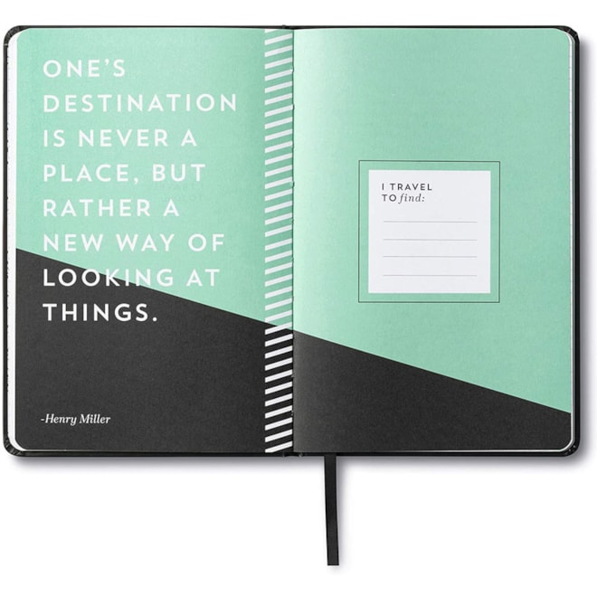 Guided Travel Journal Everywhere You Go