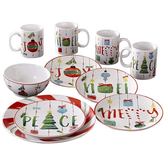 Holiday Dinnerware Set