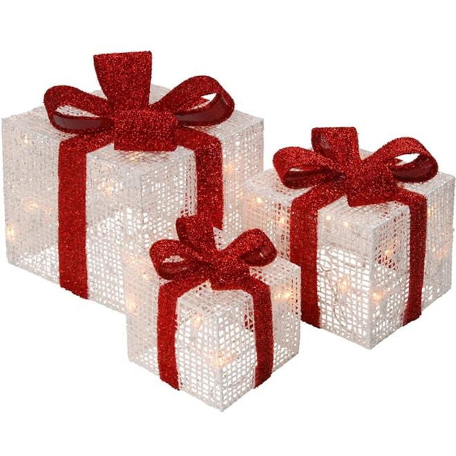 Indoor/Outdoor Gift Box Lights