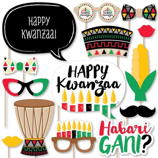 Kwanzaa Photobooth Kit