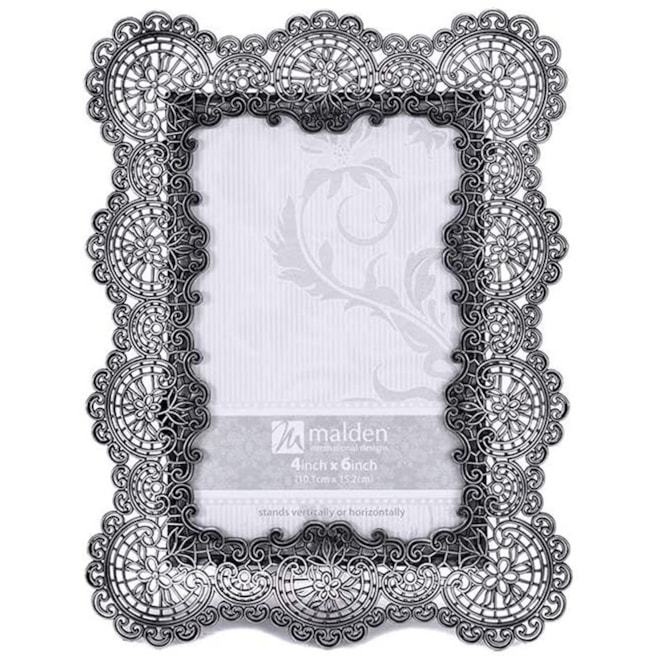 Lace Metal Picture Frame