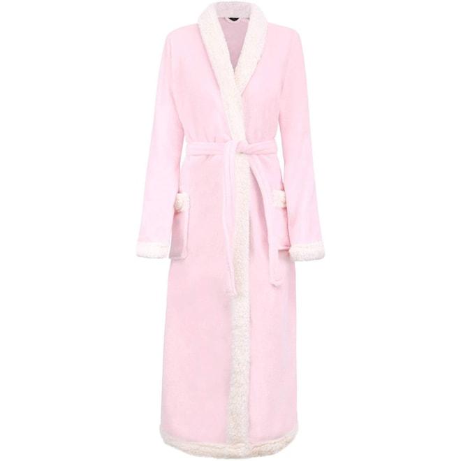 Luxury Sherpa Trim Robe