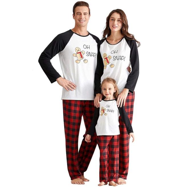 Matching Family Pajamas Set