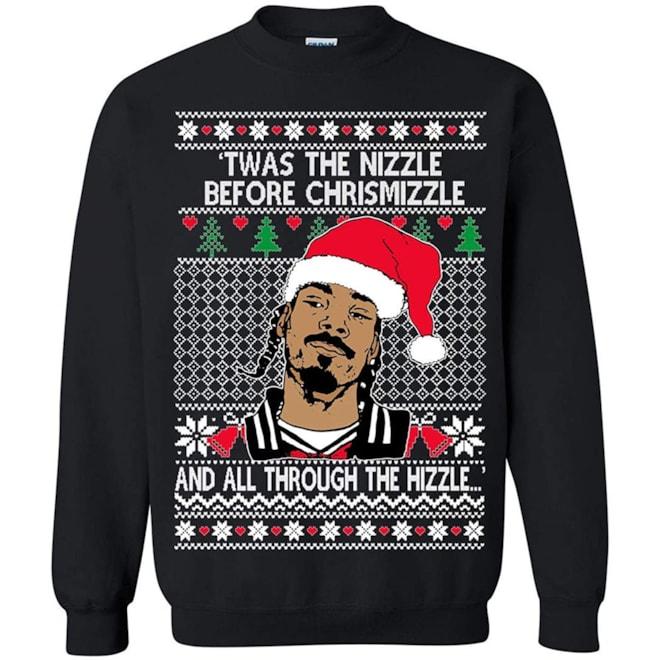 Memetic Snoop Dog UglyChristmasSweater