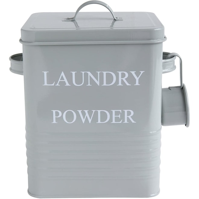 Metal Laundry Powder Container
