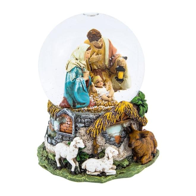 Musical Water Globe Nativity