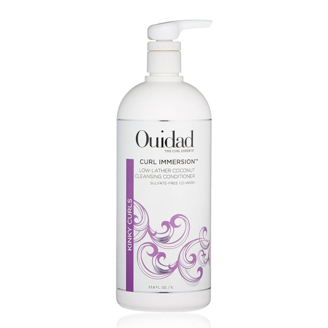 OUIDAD Curl Immersion Low-Lather Coconut Cleansing Conditioner