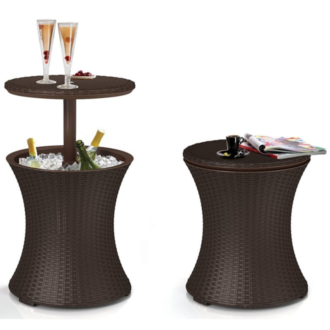 Patio Table With Cooler