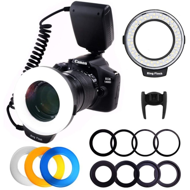 Ring Flash, Adapter Rings & Flash Diffusers
