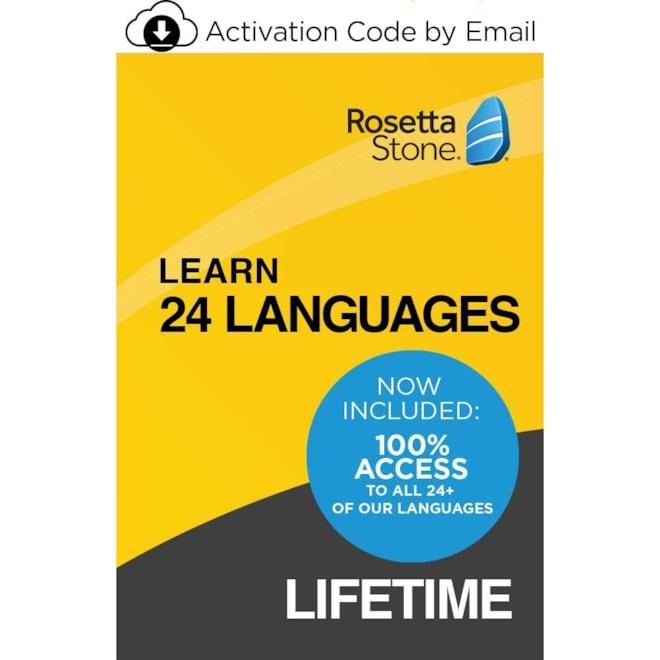Rosetta Stone Unlimited Lifetime