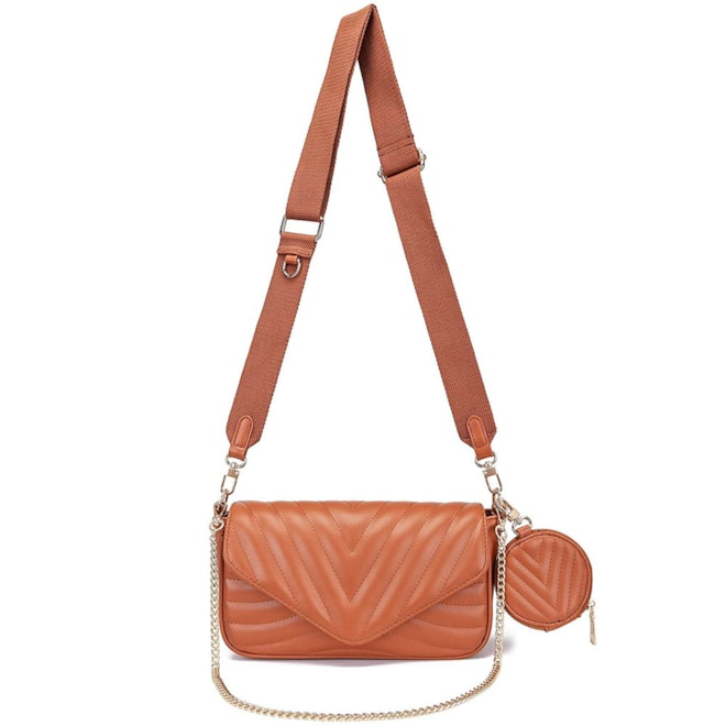 Small Quilted Crossbody Bag