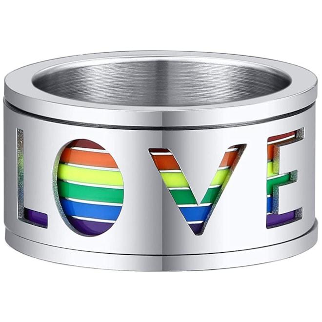 Spinner LGBTQ+ Pride Ring