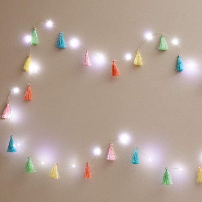 Tassel LED Light String