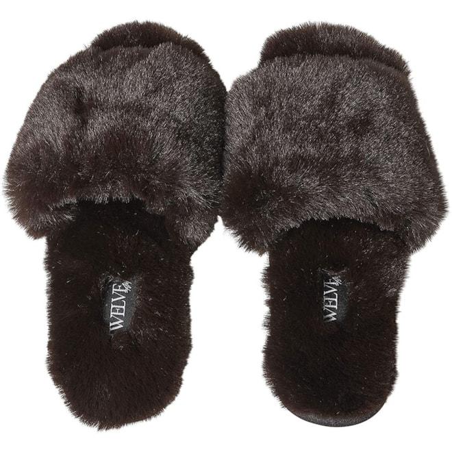 Twelve AM Co. So Good Fluffy Slippers