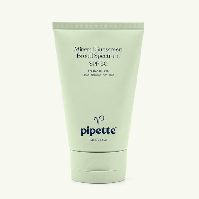 Pipette Mineral Sunscreen Broad Spectrum SPF 50