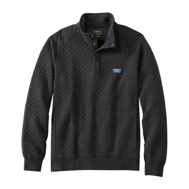 Men's LL Bean Quilted Sweatshirt