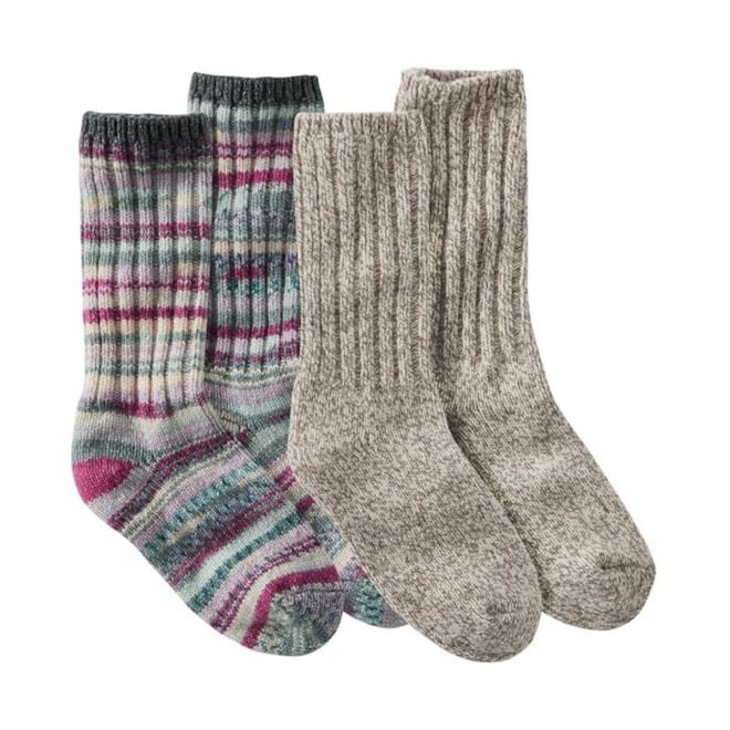 Adults' Merino Wool Ragg Socks